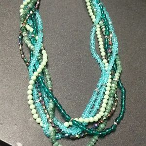 Premier designs waterfall 6 strand necklace